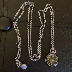 Marc by Marc Jacobs watch pendant necklace